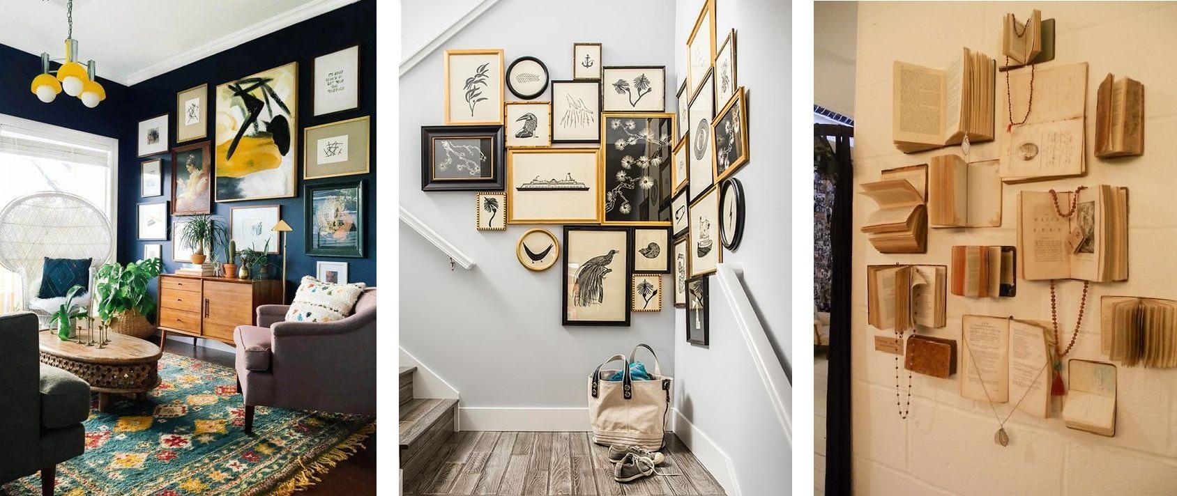 Домашняя Стена-Галерея, примеры
