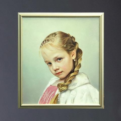 Портрет девочки на заказ
