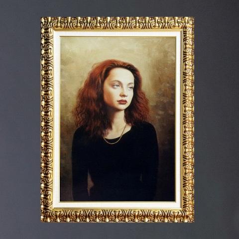 Классический женский портрет на заказ