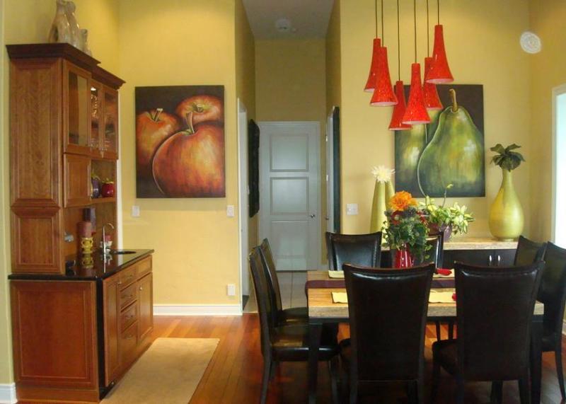 Картины с фруктами на кухне