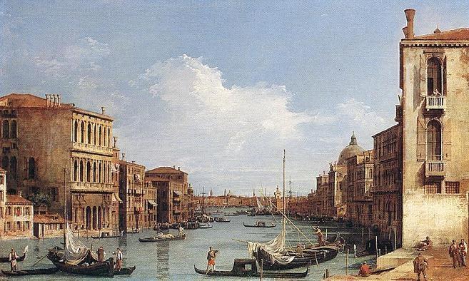 Каналетто, Гранд Канал, Венеция