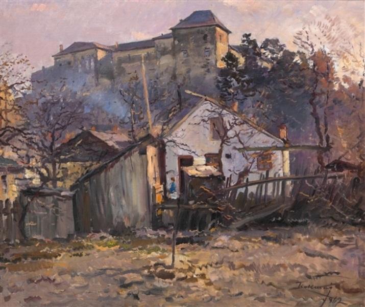 Иосиф Бокшай, Ужгородский замок, 1963 год