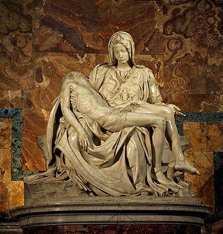 Пьета Скульптура Микеланджело