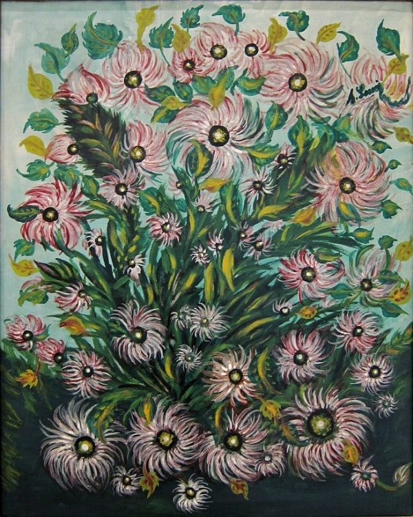 Цветы Серафины Луи