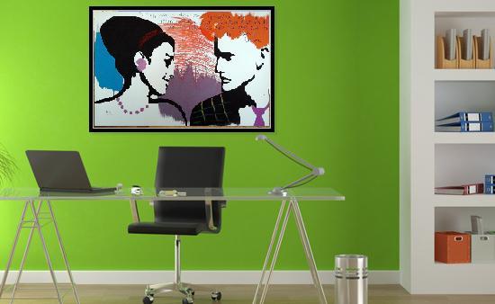 Картины в современном офисе