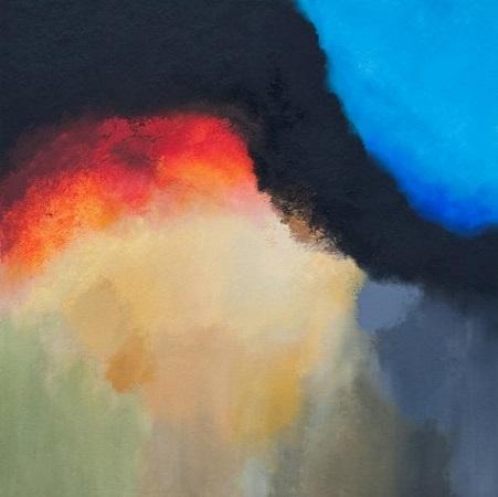 Абстрактная картина в интерьер, художник Козелецкий