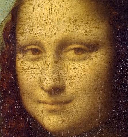 Мона Лиза, фрагмент, Леонардо Да Винчи