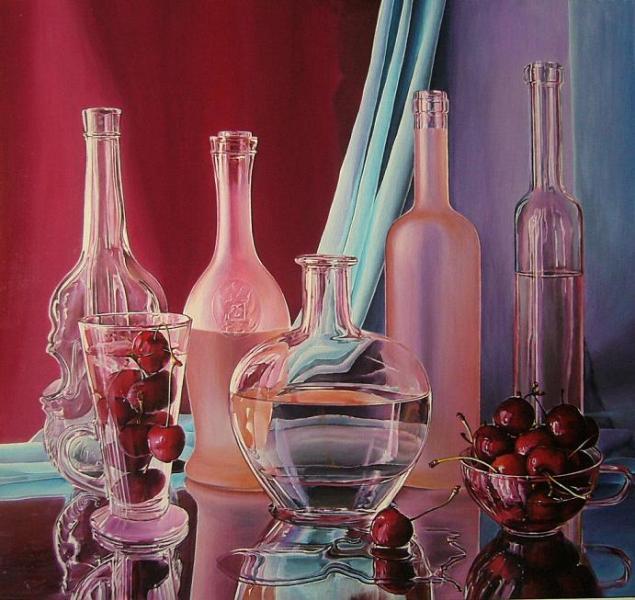 Дашевский Олег, картина Pink, фотореализм