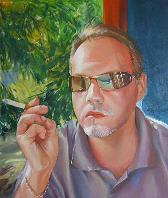 Портрет в стиле неомодернизма