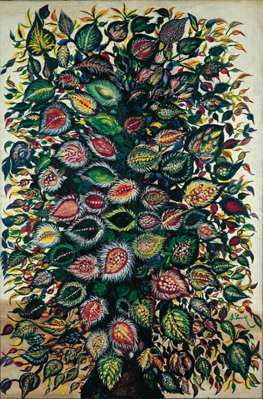 Букет цветов художницы Серафины