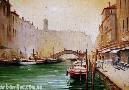 Красота утра в Венеции